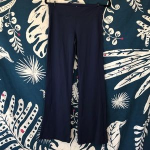 Athleta navy yoga pants groove Sz M